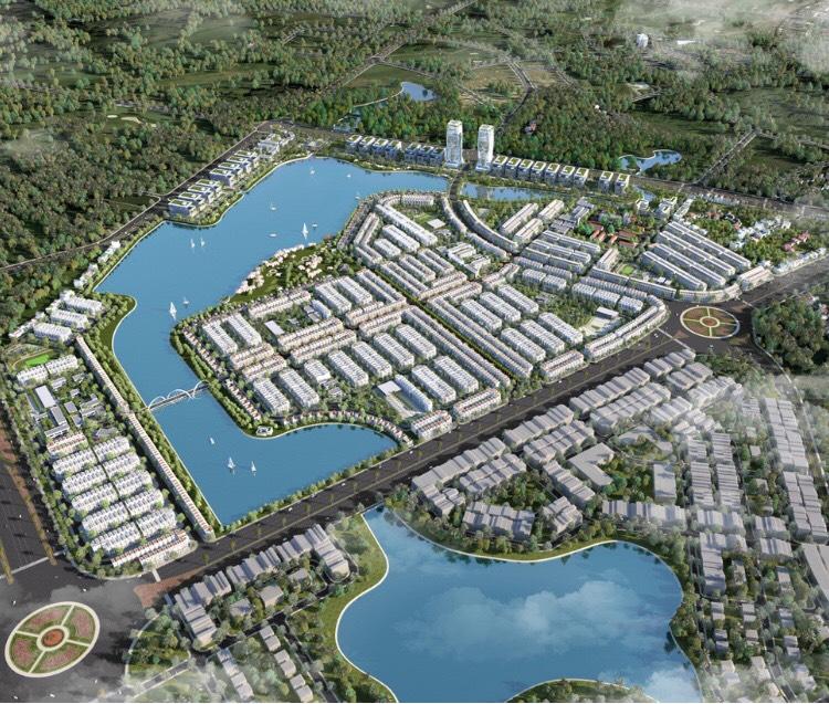 Phối cảnh dự án đại đô thị TMS Homes Wonder World.